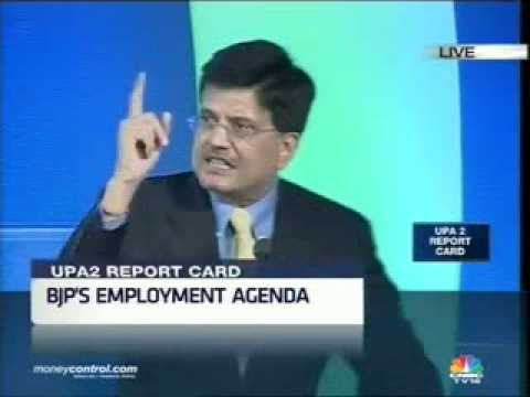 Shri Piyush Goyal in TV Debate on CNBC TV18 -