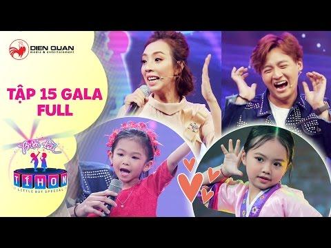 Biệt tài tí hon | tập 15 gala full: Thu Trang