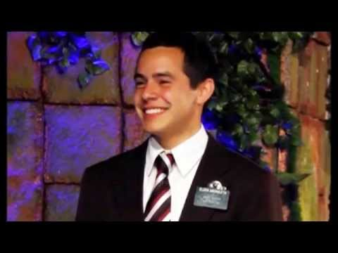 David Archuleta 1st Interview Post Mission  (04 Apr 2014)