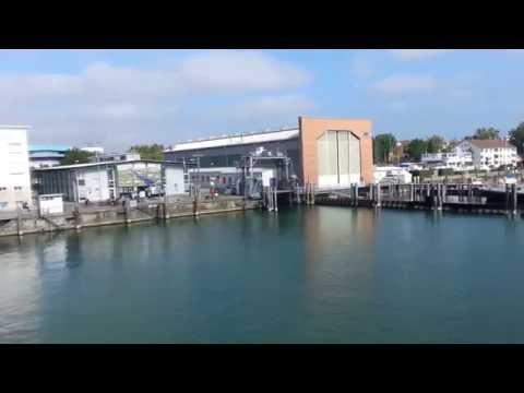 Romanshorn to Friedrichshafen with ferry September 2014