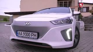 Тест-драйв Hyundai IONIQ компанией D.TЄK. Первый Автомобильный канал.