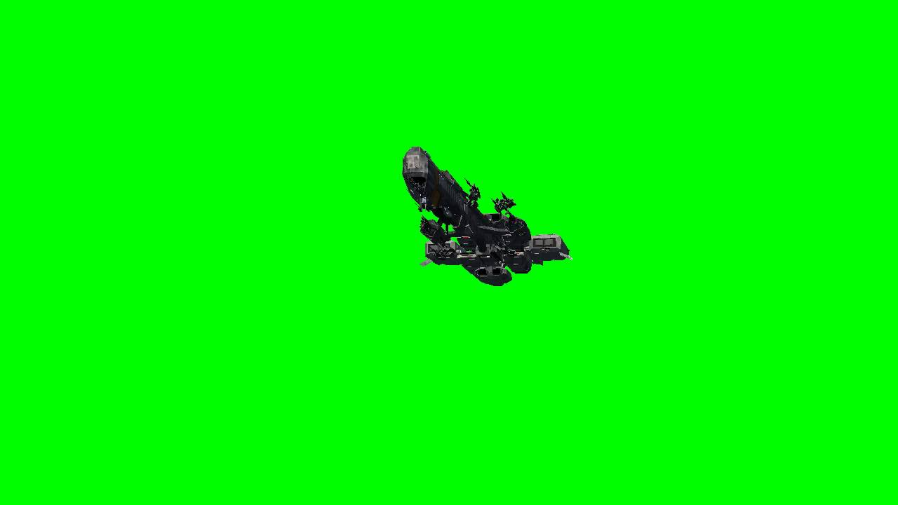 alien landscapes green screen