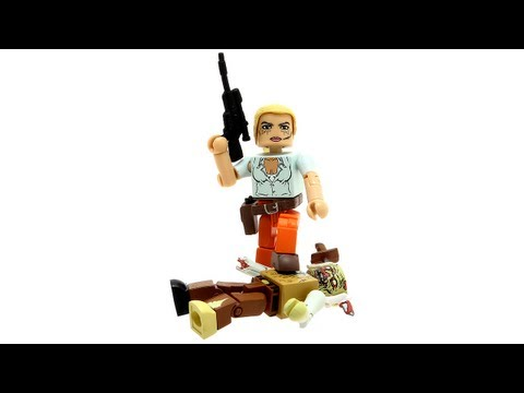The Walking Dead Minimates Series 2 - Andrea and Stabbed Zombie