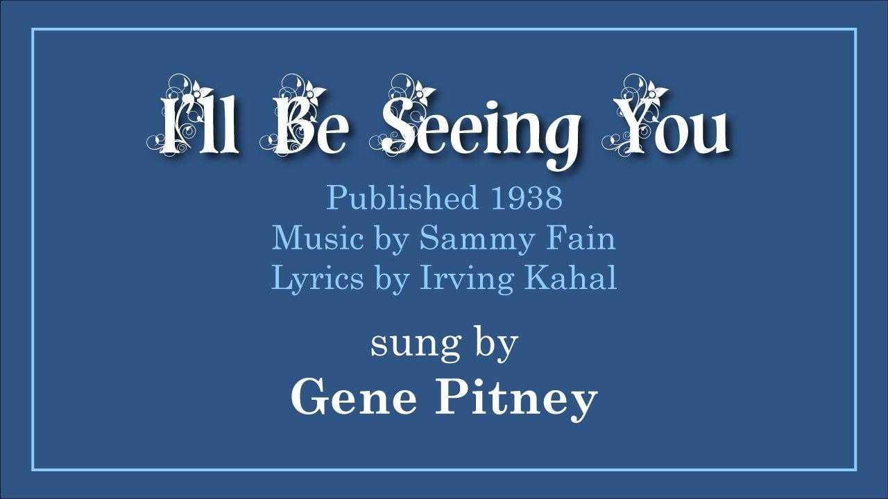 Gene Pitney - Blue Gene