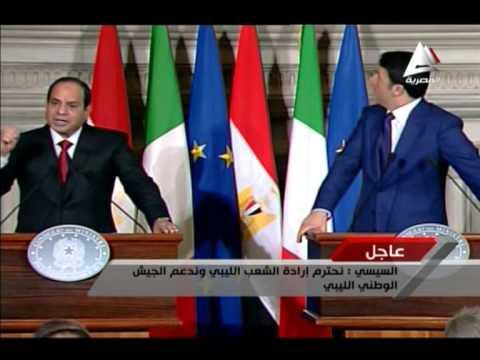 رئيس وزراء إيطاليا يضع السيسي في موقف محرج