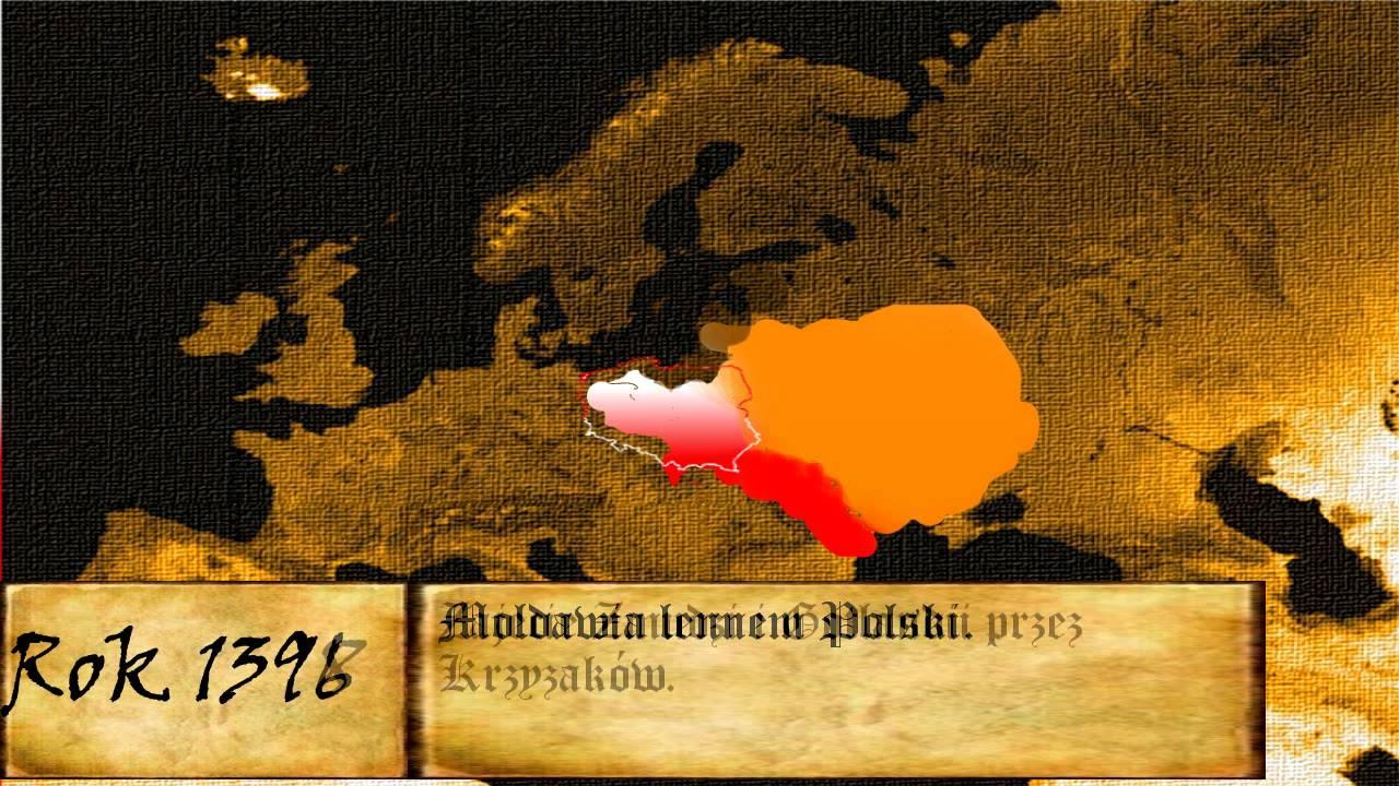 animacja zmian granic polski youtube