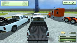 Farming Simulator 2013 Mods Ford F-350 And Kenworth Semi