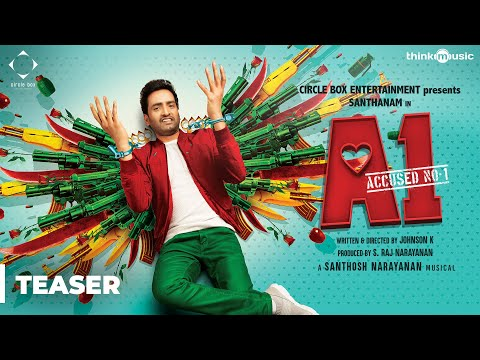 A1 Official Teaser - Santhanam, Thara - Johnson K - Santhosh Narayanan - S. Raj Narayanan