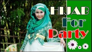 Tutorial Hijab Pashmina Wisuda Pesta Pre-Wedding Oleh