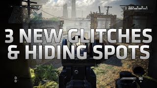COD Ghosts 3 NEW Glitches & Hiding Spots On Siege