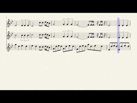 Sonic boom, Trumpet trio