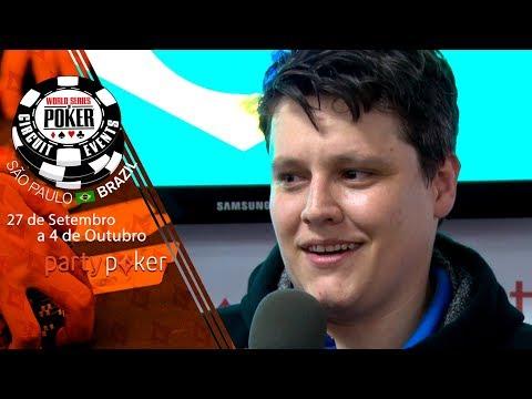 Leandro Prinz - Campeão do Omaha na WSOP Brazil
