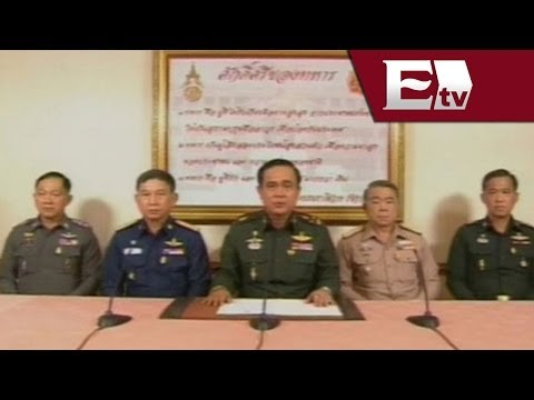 Prayuth Chan-ocha, jefe de la junta militar en Tailandia se autoproclama primer ministro  / Global