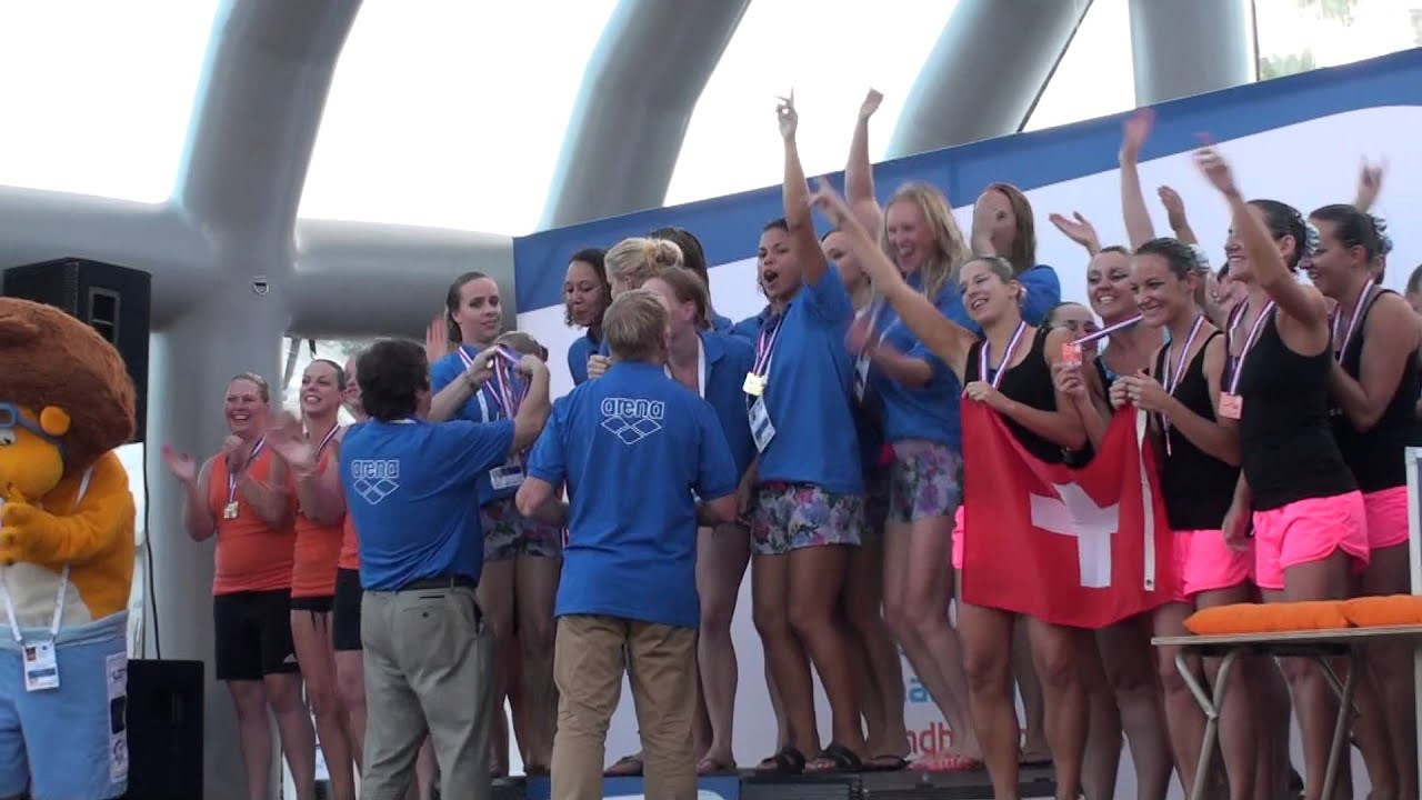 Ec Masters 2013 Medal Ceremony Free Combination Synchro