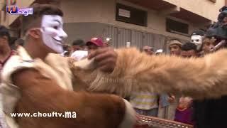 رقصة مثيرة في مهرجان بوجلود بسلا | خارج البلاطو