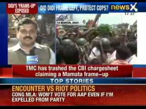 LEFT gets clean chit in Nandigram firing controversy - NewsX