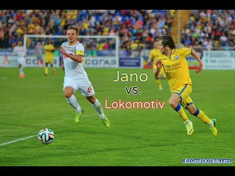 Jano Ananidze Highlights vs.  Lokomotiv Moscow (11/05/2014)