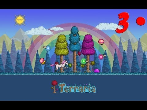 Terraria 1.2 Gameplay - Walkthrough / Detonado - Episódio 3
