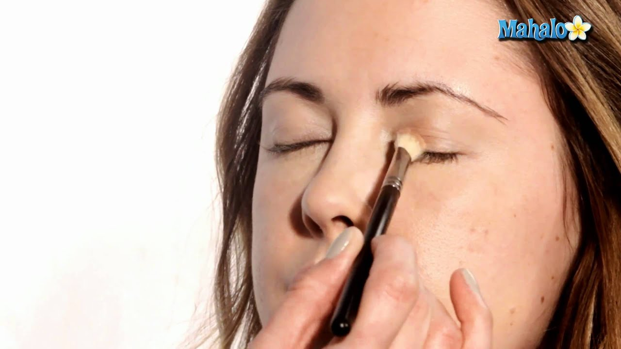 Applying Eye Makeup For Wedding Day : How to Apply Eye Shadow for Your Wedding Day - YouTube