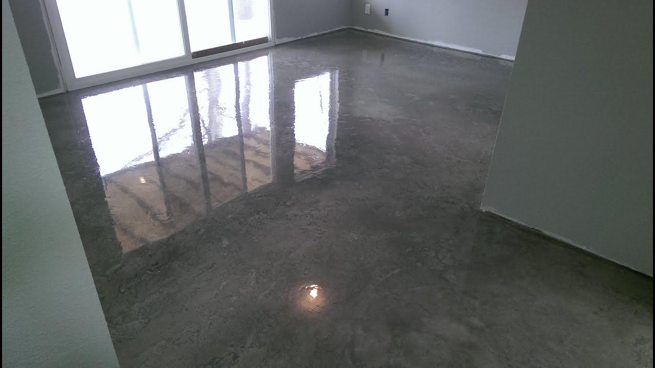 basement floor osage beach mo acid stained w epoxy finish youtube