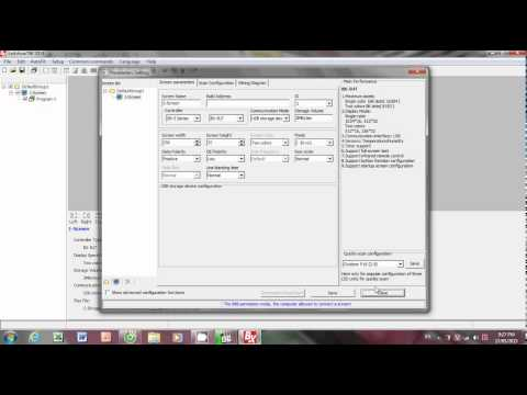 hướng dẫn cài đặt phần mềm ledshow bx 2014