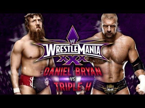 WWE Wrestlemania 30 - Daniel Bryan vs Triple H - WWE 2K14