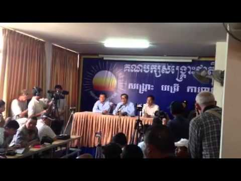 CNRP Press Conference on January 21, 2014 - Part2/3