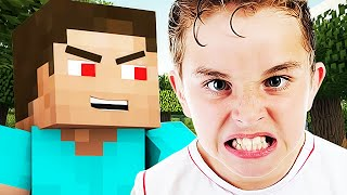 FINDING THE ANGRIEST 7 YEAR OLD EVER ON MINECRAFT