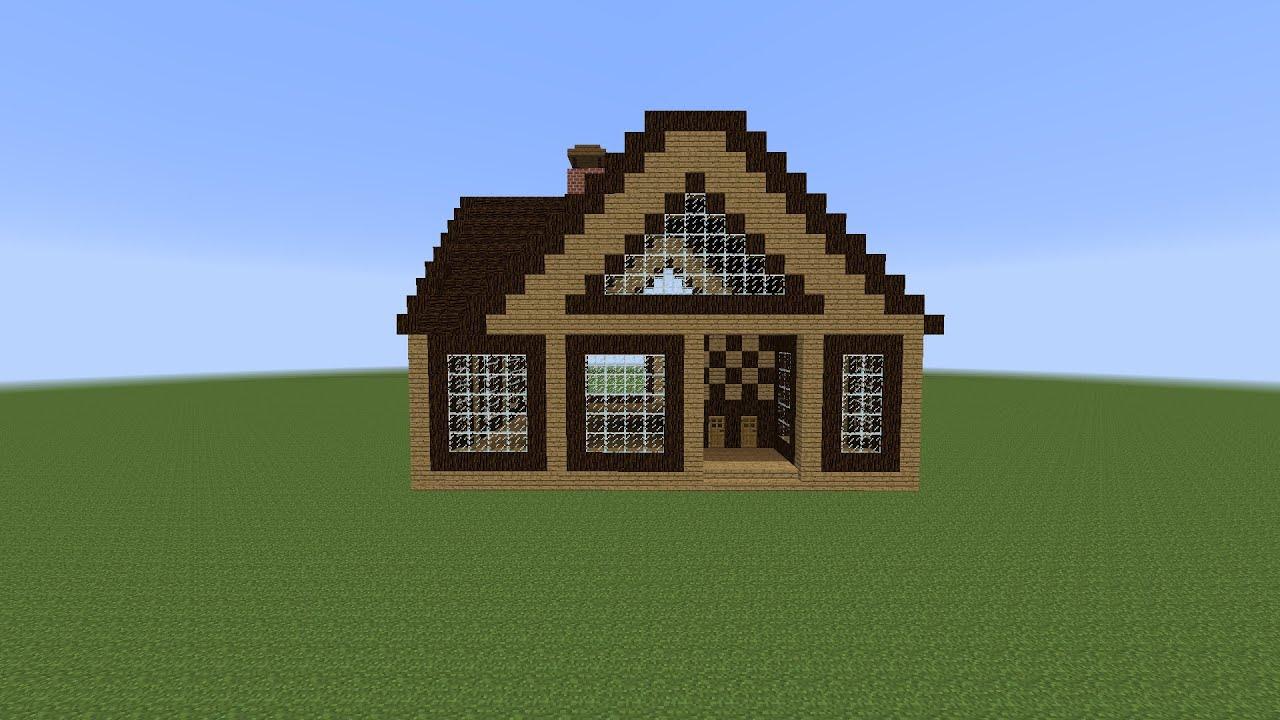 Как сделать дом в 1 клик