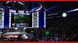 Roman Reigns WWE 2K14 Entrance And Finisher (Official