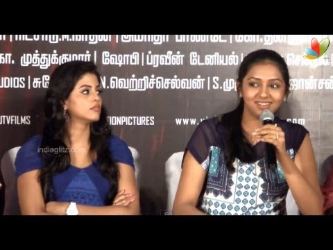 I am ready to do liplock scene with any actors - Lakshmi menon | Vishal | Naan Sigappu Manithan