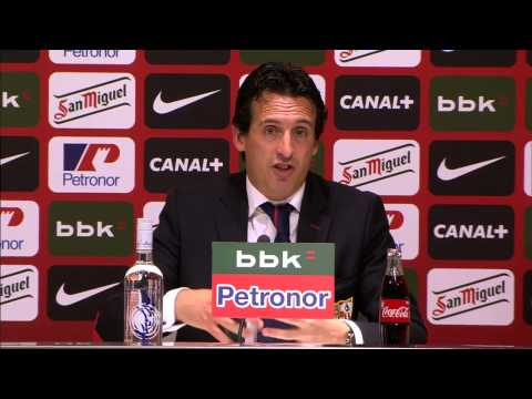 Rueda de Prensa Post-Partido Jor35 Athletic Club 3 - 1 Sevilla FC (Unai Emery) HD