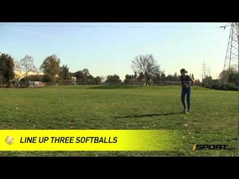 How to Field on the Run in the Outfield in Softball