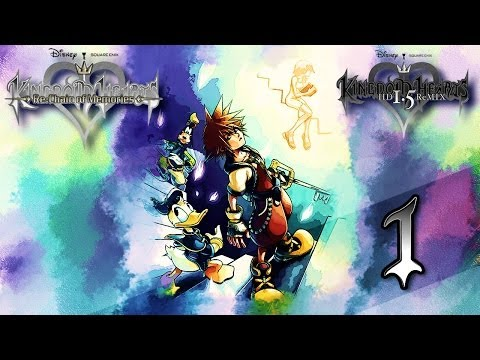 Let's Play Kingdom Hearts Re:Chain of Memories (1.5 HD/PS3/German) [Part 1]-Kartenschloss