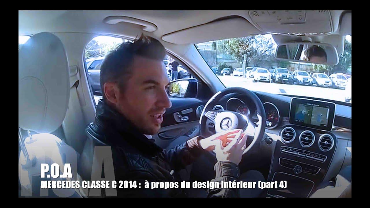Nouvelle mercedes class c propos du design int rieur for Interieur mercedes classe a