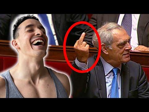 Les pires moments en politique (clash fou rire)