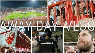 Spitting, Tifo and An Armed Guard! RED STAR BELGRADE V LIVERPOOL | AWAY DAY VLOG