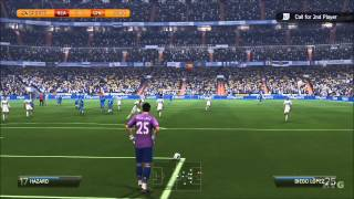 FIFA 14 Real Madrid Vs. Chelsea FC Gameplay [HD]