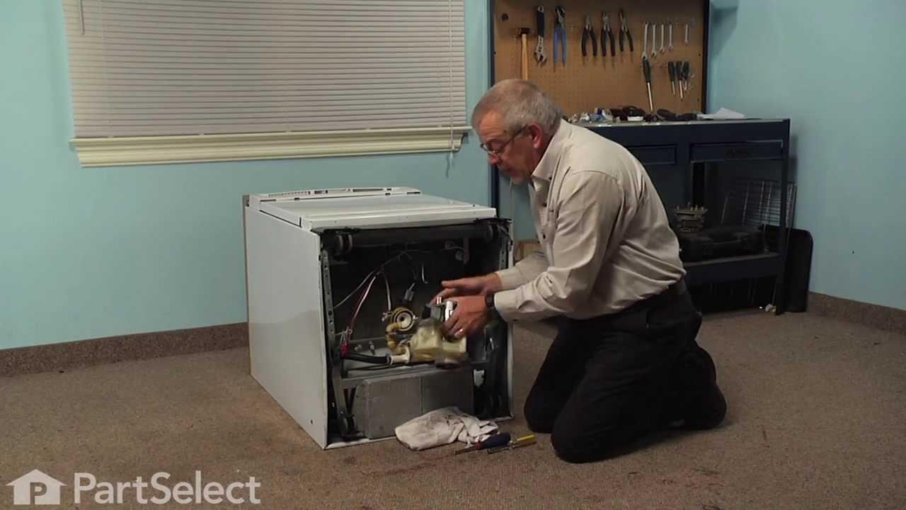 Dishwasher Repair Replacing The Impeller Kit Ge Part