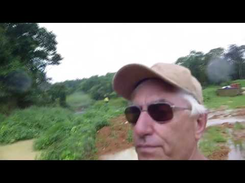 Permaculture water harvesting, Christmas Island