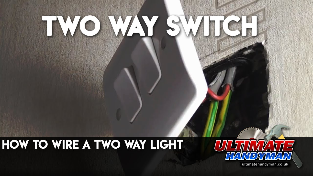 How To Wire A Two Way Light Youtube