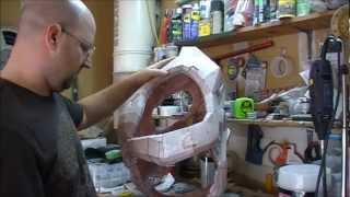 Pepakura Rondo Coating & Cutting A Torso In Half