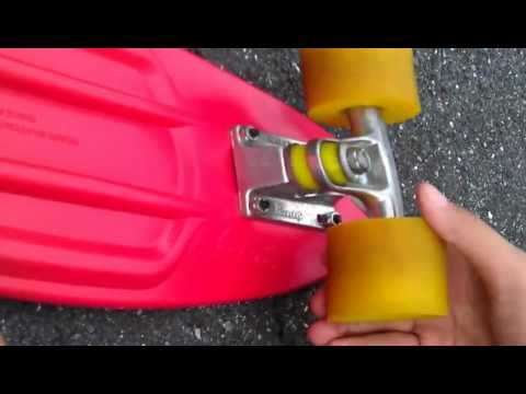 Penny Board Red and Yellow Review