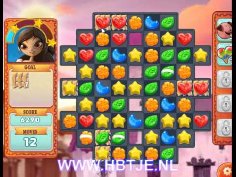 Book of Life Sugar Smash level 12