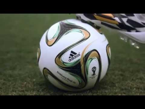 2014 FIFA World Cup Brazil Final Official Match Ball - Adidas Brazuca