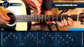 ... Como tocar SEÑORA SEÑORA en Guitarra Acustica (HD) Tutorial Arpegios