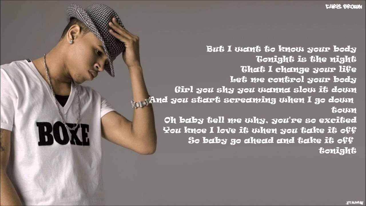 Chris Brown - Sweet Love [Lyrics] - YouTube