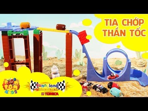 Hoạt hình xe đồ chơi - Thành Phố Tin Tin Tomica - T2: Tia Chớp Thần Tốc - Funnyland - POMPOM4kids