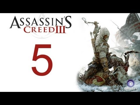 Assassin's creed 3 walkthrough - part 5 HD Gameplay AC3 assassins creed 3 (Xbox 360/PS3/PC) [HD]