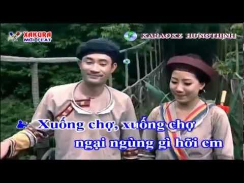 Karaoke [TAN NHAC] Gặp nhau giữa rừng mơ - song ca Xakura